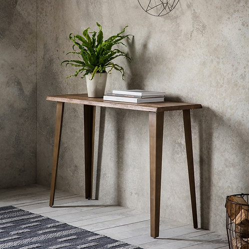 Foundry Oak Console Table
