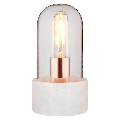 Lamonte White Marble Lamp