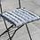 Thumbnail: Striped Seat Pad - Grey