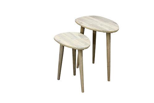 Teardrop Side Tables