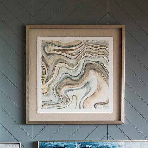 Segment Framed Art