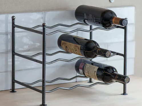 Steel Wine Rack