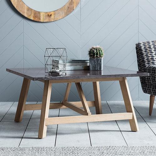 Oak/Resin Coffee Table