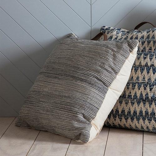 Beamish floor cushion with handle