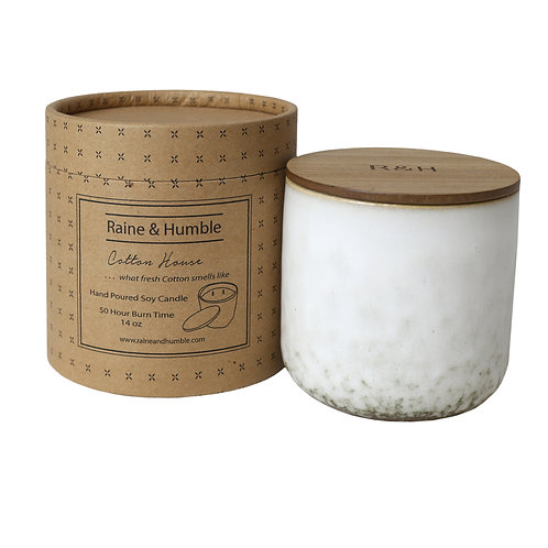 Soy Candle in Ceramic Jar