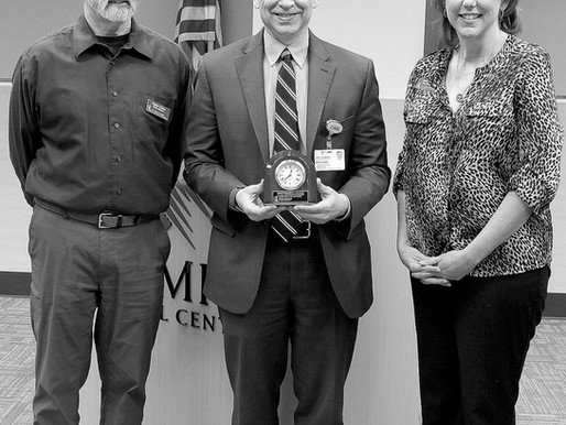 Sequim Free Clinic Honors OMC's Lewis with Beitzel Award