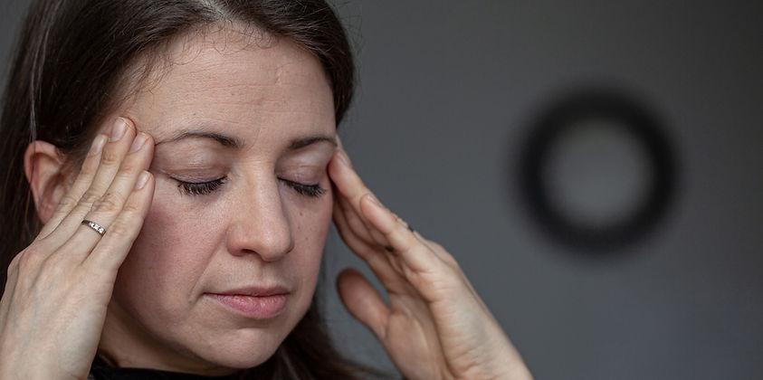 Headache from dental pain