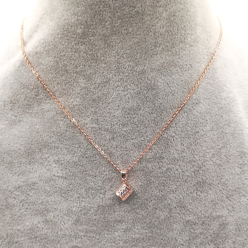 Solera Rosegold Plated Necklace
