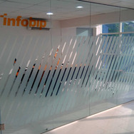 Frameless Glass partition, Infobip Nigeria Limited.