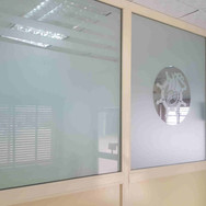 Aluminium and glass partition, Orion Marine Ltd