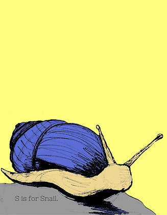 S is for Snail