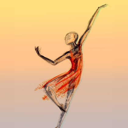 Orange Dancer