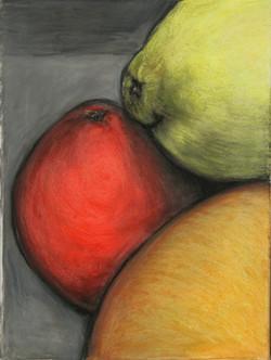 Orange Lemon Grapefruit Still life 2