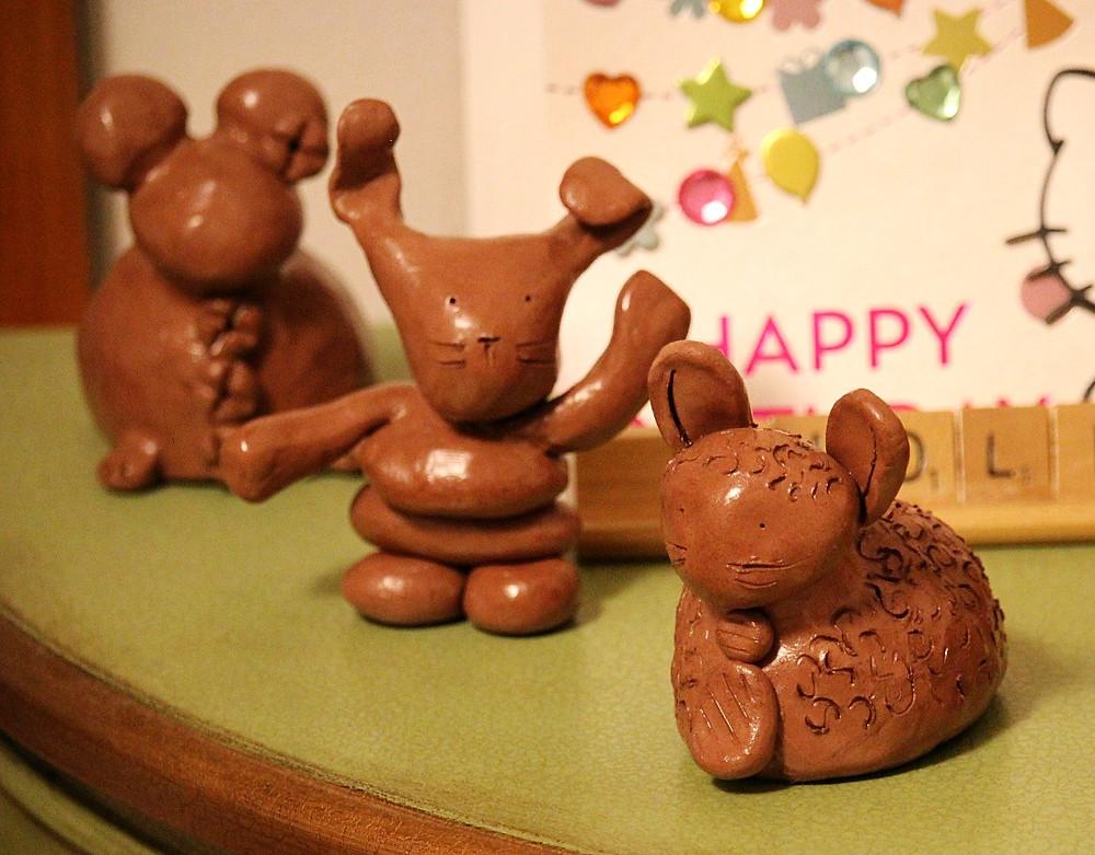 Terracotta clay figures