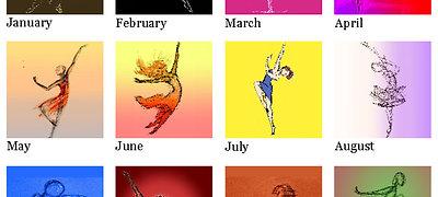 2021 Adventures in Dance Calendar