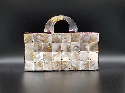 Mini Brown Seashell Hand Bag G08