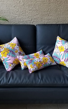 Handmade Aloha Pillows from Hawaii