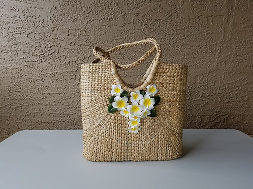 Water Hyacinth Beach Bag