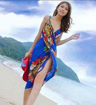 Silk Sarongs from Hawaii