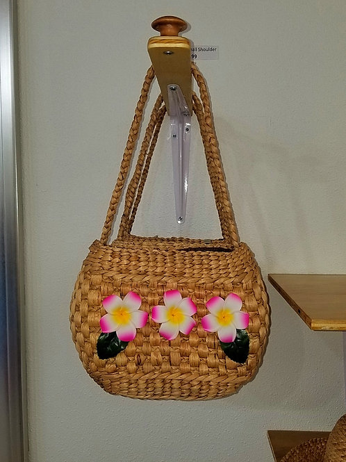 Water Hyacinth Small Shoulder Bag