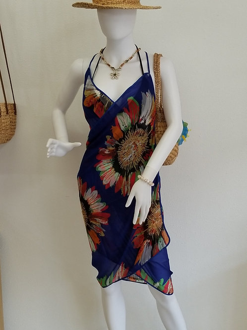 Silk Sarong with Strap KT1