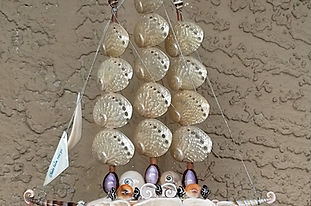 Handmade Seashell Sailboats from Hawaii