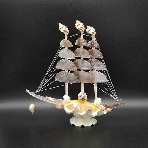Seashell Sailboat Medium TB28N