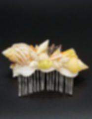Handmade Seashell Hair Clips and Hair Combs from Hawaii