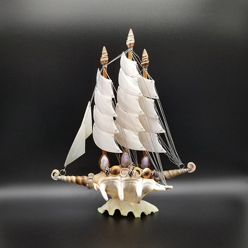 Seashell Sailboat Large TB18