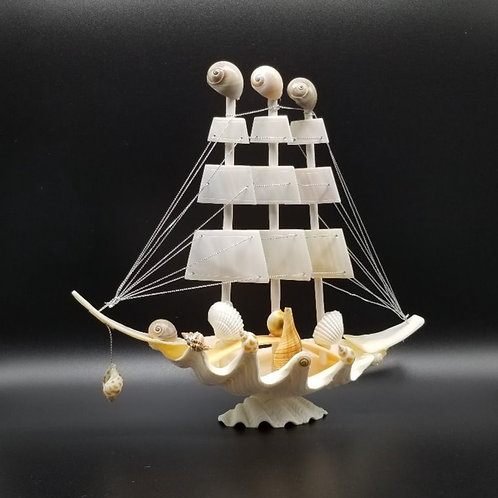Seashell Sailboat Medium TB17T