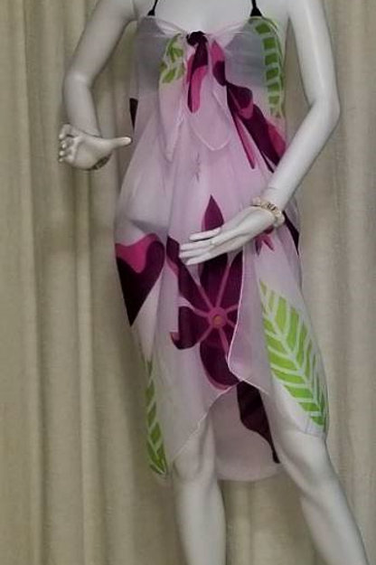 Silk Sarong Strapless SR2