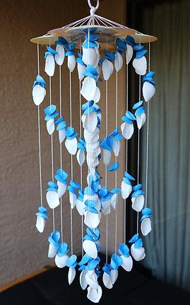 Handmade Seashell Wind Chimes from Hawaii