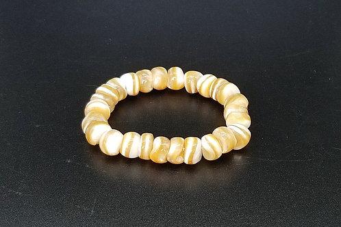 Brown Snail Shell Bracelet L42