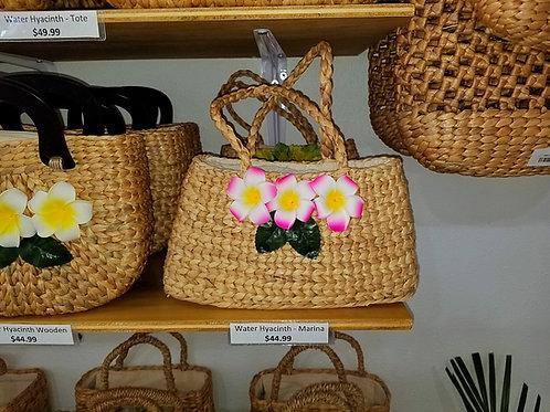 Water Hyacinth Marina Bag