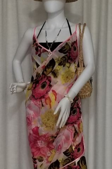Silk Sarong with Strap KT10