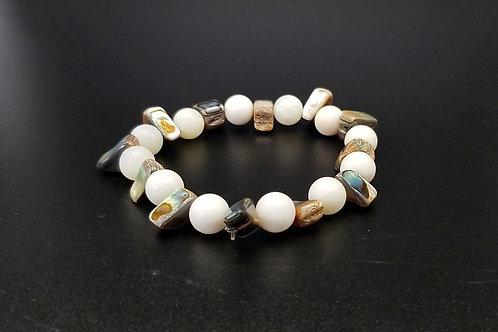 Brown Pearl Conch Bracelet LDT47