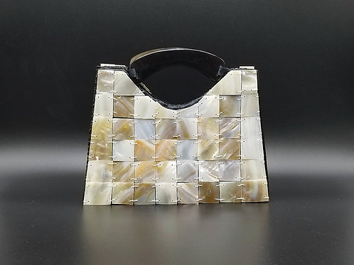 Mini Black Seashell Hand Bag G03
