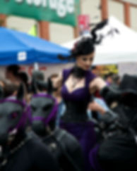 Performance Artists Liliane Hunt and The House of Hunt - San Francisco Folsom Street Fair 2015