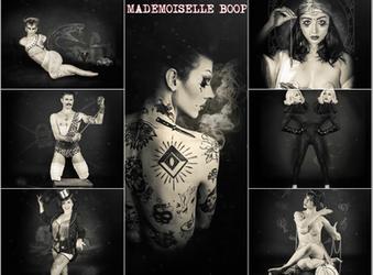 "La troupe du ""Cabaret Mademoiselle"""