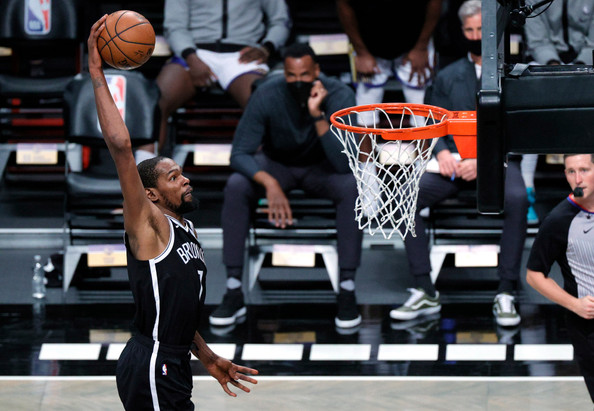 Durant and Irving shine for Brooklyn in statement win