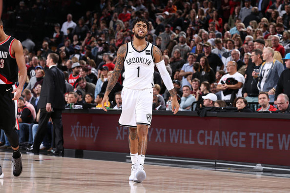 D'Angelo Russell leads Nets to 101-97 win over Trail Blazers
