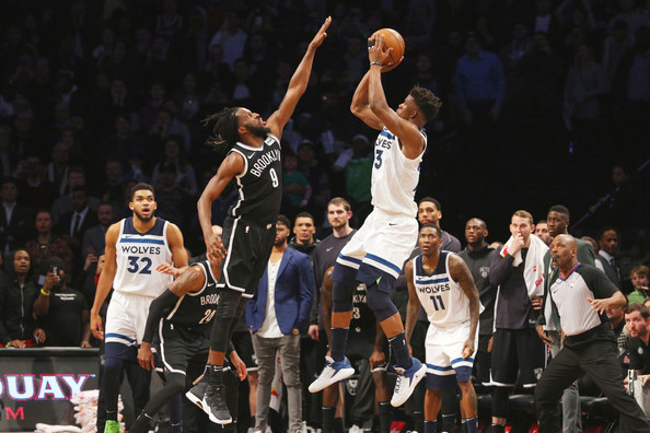 Dinwiddie lifts Nets to 98-97 victory over Timberwolves