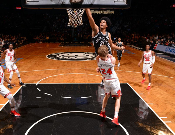 Nets snap eight-game losing streak with 104-87 win over Bulls
