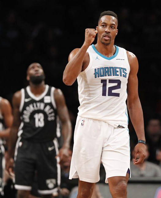 Nets acquire Dwight Howard from Hornets
