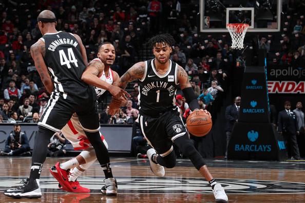 Russell's hot start not enough as Raptors drop Nets