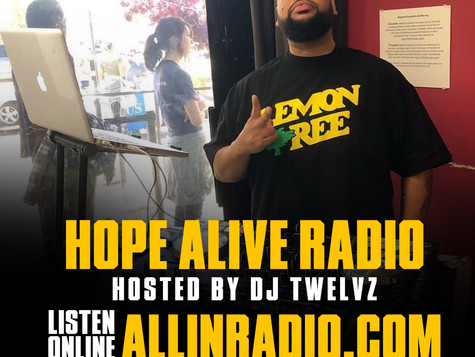 Hope Alive Radio - Tune in on Wednesdays at 7 p.m pst
