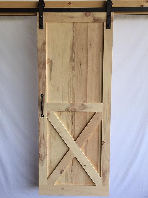 Bottom X Barn Door