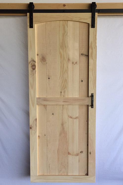 Arch Top Barn Door