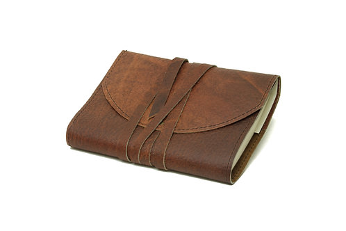 Bison Hide Leather Journal