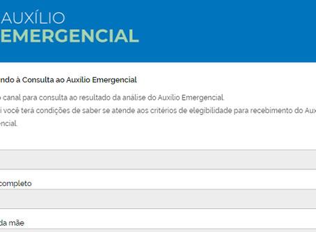 Resultados das contestações do auxílio emergencial estão disponíveis na internet